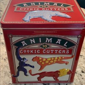 Williams Sonoma 10 piece cookie cutter set